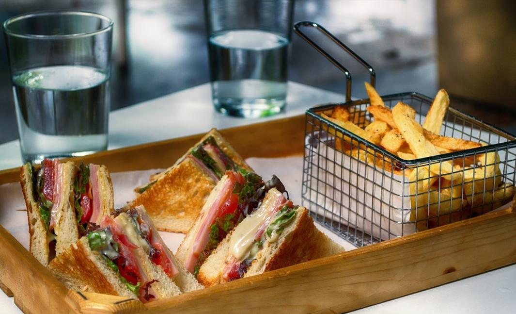 chutný sandwich