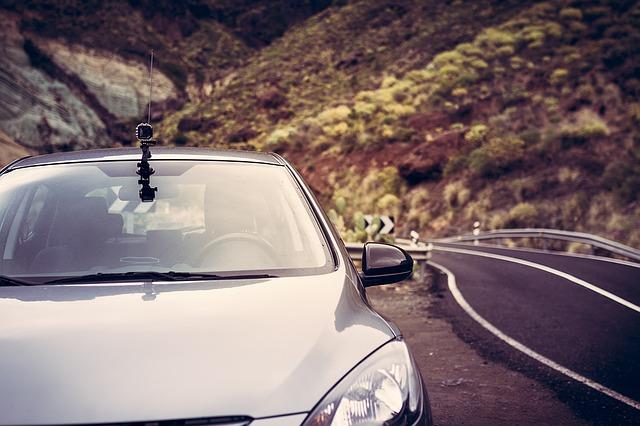 kamera na autě