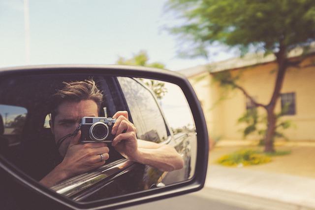 focení z auta