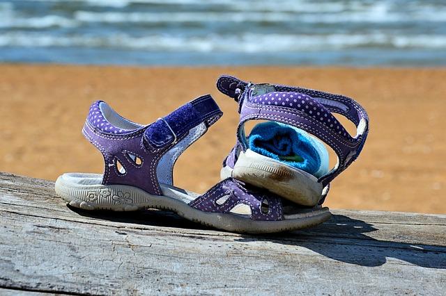 dětská obuv na léto