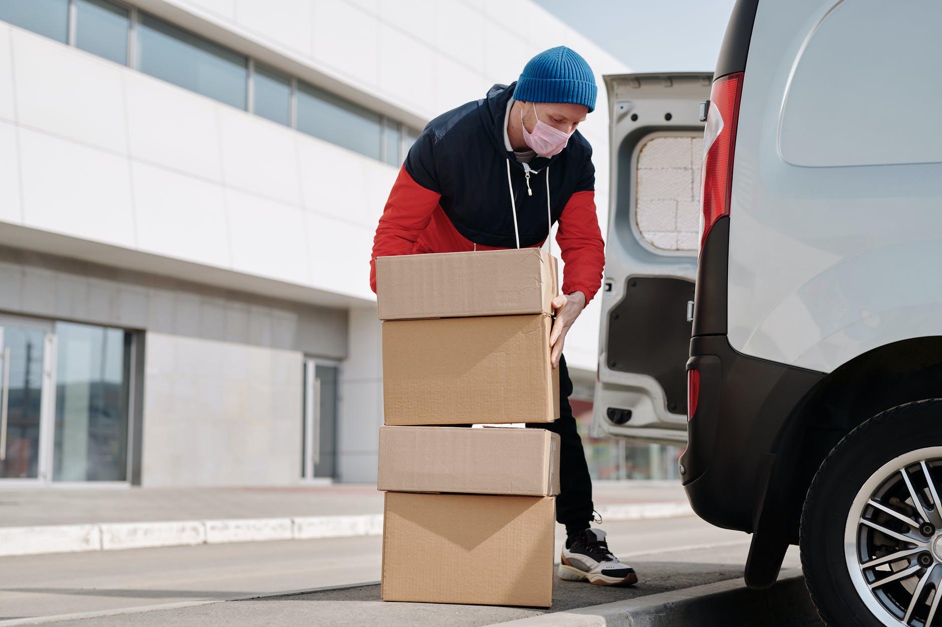 stěhování dodávka